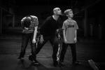 Drei Taenzer auf der Bühne Staatsoperette Leuben