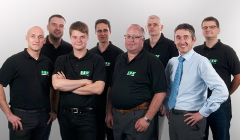 IBH IT-Service GmbH Gruppenfoto Technikerteam