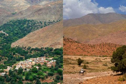 Marokko Atlasgebirge